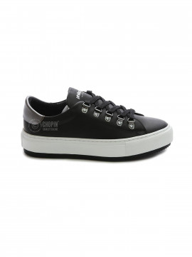 Philip Hog Mimi leather sneakers - Black