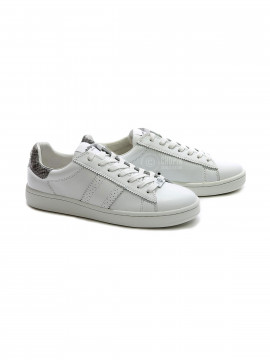 Philip Hog Serena leather sneakers - White / grey