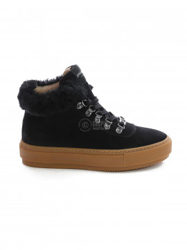 Philip Hog Alma suede boot - Black