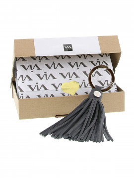 Via Vai Tender Key hanger - Fumo Grey