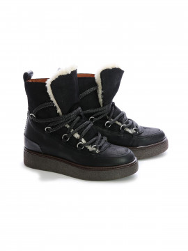 Via Vai Gemma Gimlet boot - Nero