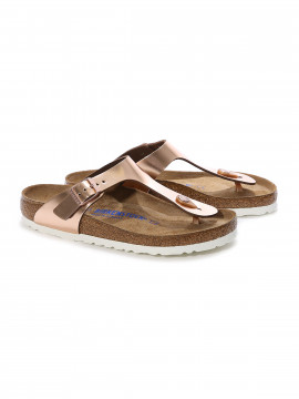Birkenstock Gizeh SFB N LED sandal - Metallic Copper