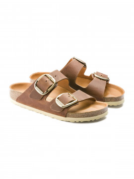 Birkenstock Arizona big buckle FL sandal - Cognac