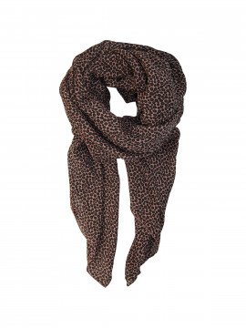 Black Colour Coin scarf - Winther rose