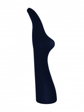 Black Colour 3D Microfiber tights - Navy