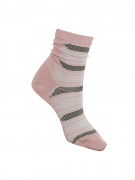 Black Colour Gypsy sock - Rose