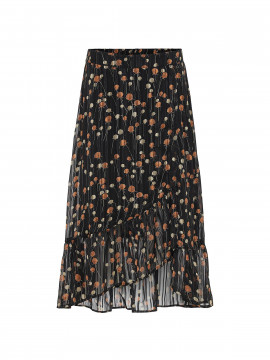 Continue Macy skirt - Black orange dot