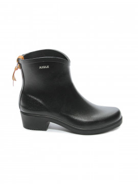 Aigle Juliette rubber boot - Black