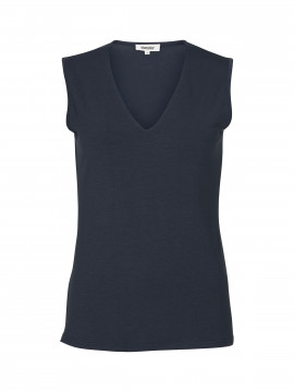 Blue on Blue Femme Vigga tank top - Marine