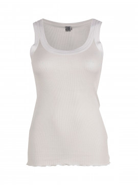Saint Tropez Silk tank top - White
