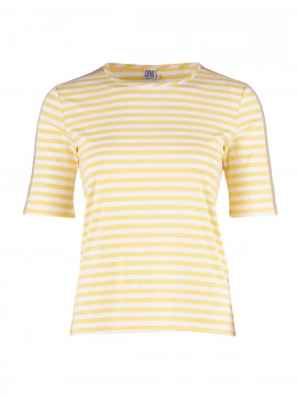 Saint Tropez Striped Tee - Yellow