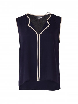 Saint Tropez Susez top - Navy