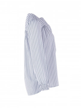 Saint tropez Candy stripe shirt - Blue