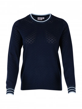 Saint tropez Pointell knit - Navy