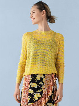 Saint tropez Franseska knit - Freesia yellow