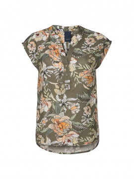 One Two Luxzuz Kika garden top - Army