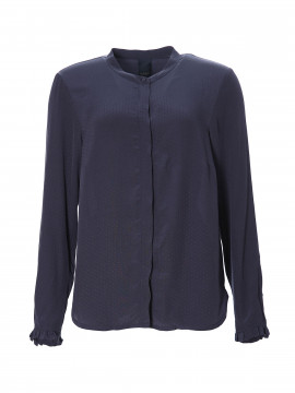 One Two Luxzuz Magdalenia shirt - Navy
