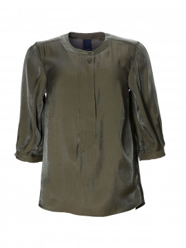 One Two Luxzuz Maggia shine top - Army