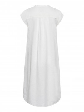 One Two Luxzuz Kikari linnen dress - Cream