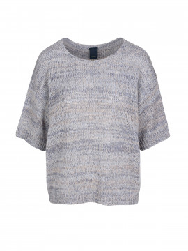 One Two Luxzuz Ulja S/S knit - Antiqué blue