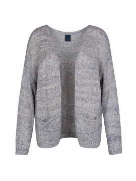One Two Luxzuz Urd knit cardigan - Antiqué blue