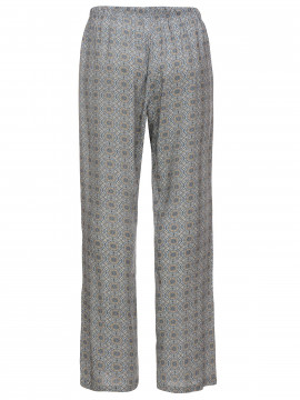 One Two Luxzuz Elilin print pant - Heavenly blue
