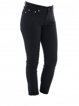 Jonny Q Jacky 7/8 Tech sateen jeans - Black
