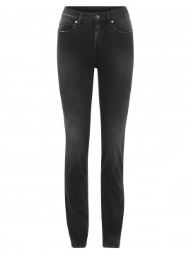 Jonny Q Cathrine jeans - Dark destroyed black