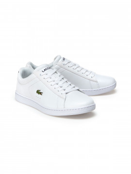 Lacoste Carnaby evo baseline trainers - White