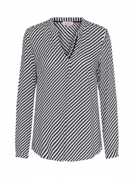 Emily Van den Bergh Fiona striped top - White
