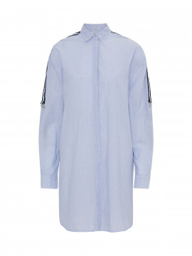 Emily Van den Bergh Emma long stripe shirt - Blue / white