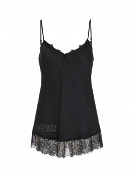 Fashion by Blue Noomi strap top - Black