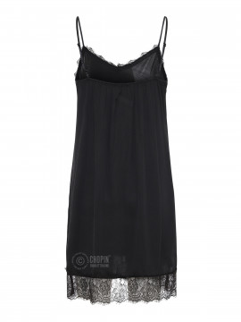 Fashion by Blue Noomi strap dress - Black
