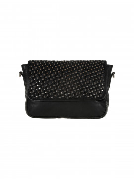 Depeche Party rivet crossover bag - Silver