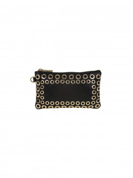 Depeche Olivia studs purse - Black