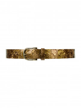 Depeche Sia snake jeans belt - Brown