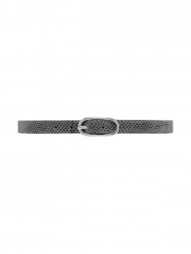Depeche Snake narrow belt - Antracit