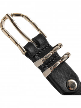 Depeche Fine narrow belt - Gold