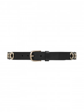 Depeche Circles jeans belt - Gold