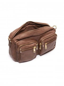 Depeche Mind mix crossover bag - Mustang brown