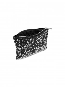 Depeche Nadia studs small bag / clutch - Black / silver