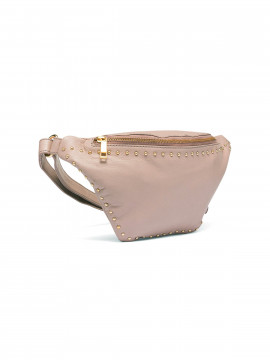 Depeche Mercedes studs bum bag - Dusty rose