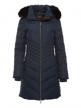 Pajar Queens real fur coat - Navy