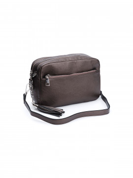 the Rubz Cindy medium crossbody - Warm metal