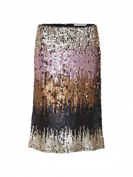 Costamani Pencil palliet skirt - Colorful