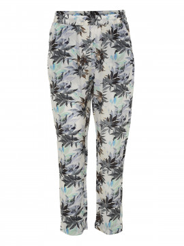 Costamani Emma Palm pant - White