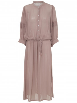 Costamani Marie solid long dress - Rosa