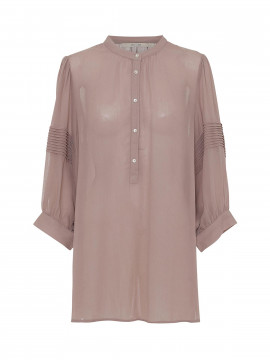 Costamani Marie solid shirt - Rosa