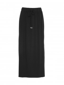 Costamani Marie jersey long skirt - Black