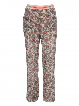 Costamani Mira flower pants - Dusty